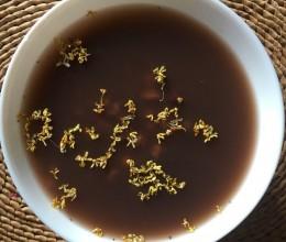 超简单:桂花红小豆薏米粥