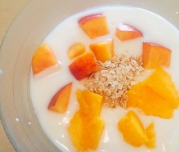 酸奶水果燕麦片