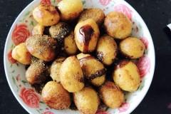 油炸小土豆