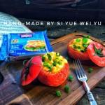 芝士焗番茄蛋