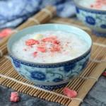 莲子百合草莓粥