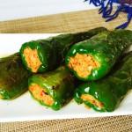 青椒酿虾肉