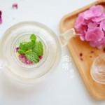 玫瑰解郁茶(玫瑰柠檬薄荷茶)