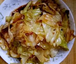 郫县豆瓣酱炒卷心菜