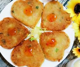 胡萝卜土豆饼#高颜值儿童便当#