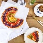 彩虹披萨#有颜值的实力派#