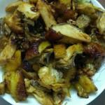 沙姜炒鸡#给老爸做道菜