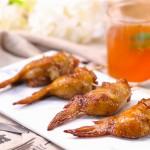 街头小吃界网红--鸡翅包饭