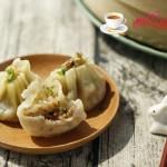 肉末香菇烧麦(饺子皮版)