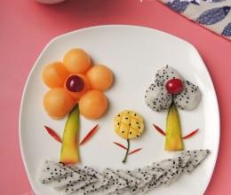 儿童水果拼盘