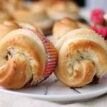 蔓越莓椰蓉小面包