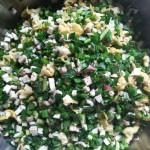 韭菜雞蛋香菇包子