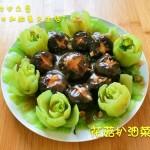 花菇扒油菜