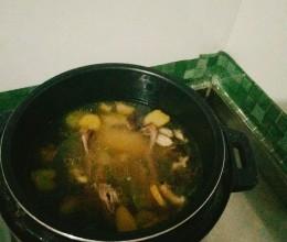 清炖香菇鸽子汤