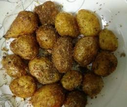 孜然椒盐小土豆