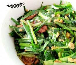 腊肠油麦菜