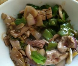 青椒洋葱炒猪腰