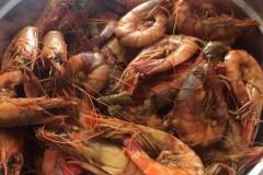 热火朝天的夏天,一定要热辣---香辣基围虾