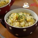 鸡蛋榨菜炒饭