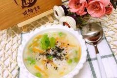 虾蓉白米粥