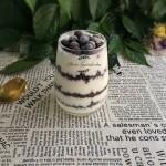 奥利奥蓝莓酸奶