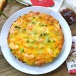 鲜虾田园披萨#丘比沙拉汁#