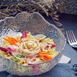 海鲜沙拉冷面#丘比沙拉汁#