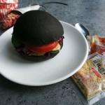 焙煎芝麻沙拉墨鱼堡#丘比沙拉汁#