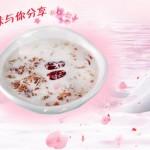 椰汁桃胶皂角米