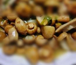 素炒青头菌