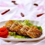 香煎带鱼#丘比沙拉汁#