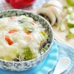 西葫芦奶酪炖饭