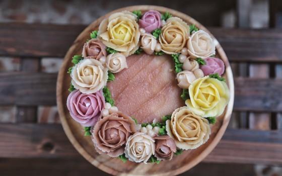 果味裱花蛋糕#相约MOF#