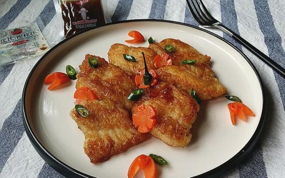 沙拉汁焗煎巴沙鱼 #丘比沙拉汁#