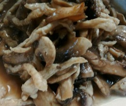 白玉菇肉丝
