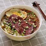 干切牛肉粉丝汤