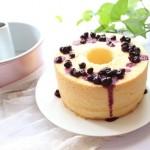 蓝莓镂空蛋糕