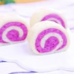 双色紫薯馒头  宝宝辅食食谱