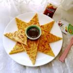 土豆丝鸡蛋饼#丘比沙拉汁#
