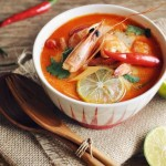 泰式甜辣虾汤