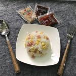 沙拉拌饭#丘比沙拉汁#