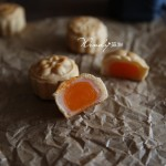 广冰咸蛋黄月饼