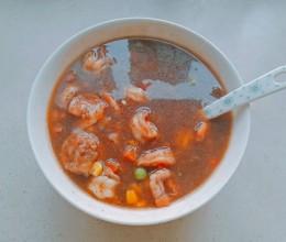 黑胡椒虾羹