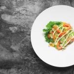 鲜虾奇异果藜麦沙拉