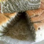 抹茶斑马纹戚风蛋糕8寸