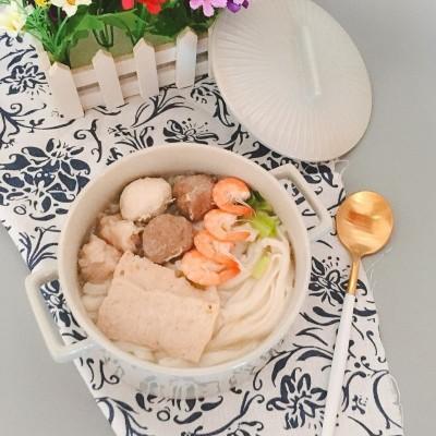 潮汕粿条汤#金龙鱼外婆乡小榨菜籽油最强家乡菜#