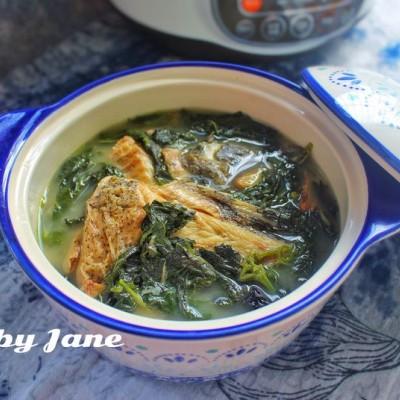 紫苏斑鱼汤
