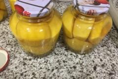 自制瓶装黄桃罐头