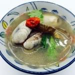 榨菜蛤蜊汤