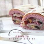 紫薯麻薯软欧,喜欢这抹紫色